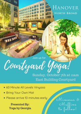 Courtyard Yoga